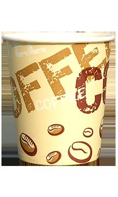 Бумажный стаканчик coffee coffee 210 мл